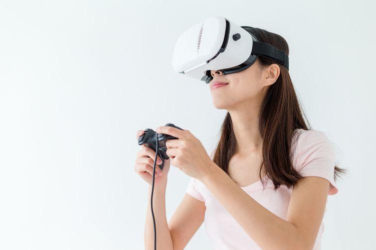 612342018 Virtuálnne okuliare Samsung Gear. Na pohyb vo svete virtuálnej reality ...