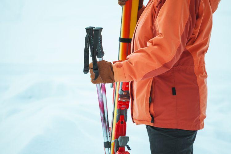 0e42f3525c Najlepšie lyžiarske palice pre deti a dospelých  Aká veľkosť a ...