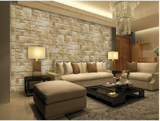 pr rodn kamenn obklad v interi ri umel kame je. Black Bedroom Furniture Sets. Home Design Ideas