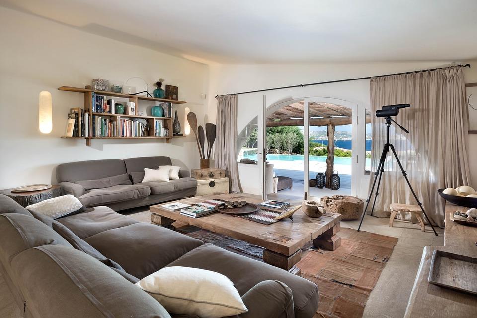 Ako zariadiť obývačku - malú aj veľkú 895e068883a