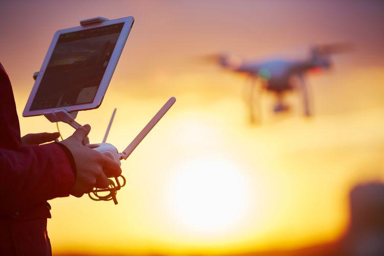 Ovládání dronu pomocí aplikace
