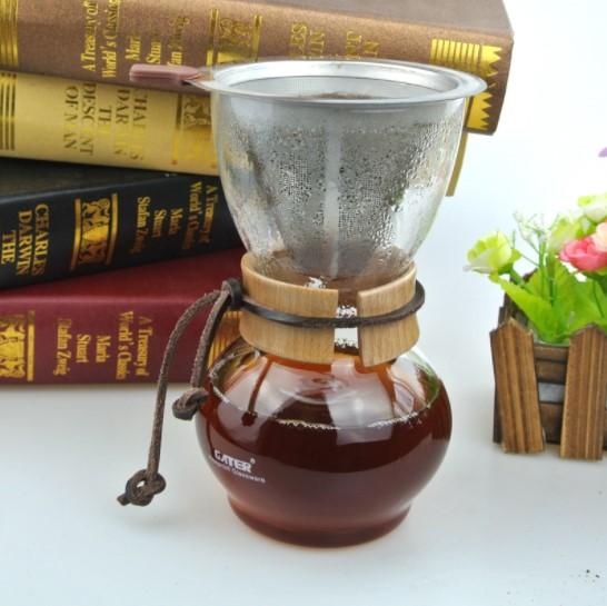Dripper kávovar na domáce použitie