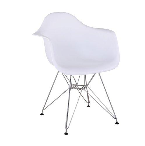 Jedálenská stolička Feman new (biela)