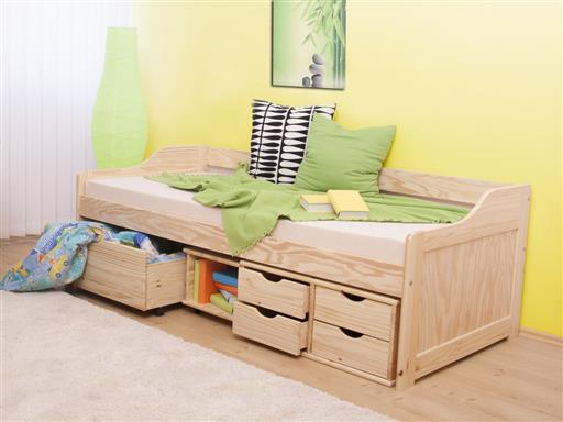 5efaa10f58aa5 Jednolôžkové postele s úložným priestorom a prístelkou | TopByvanie.sk