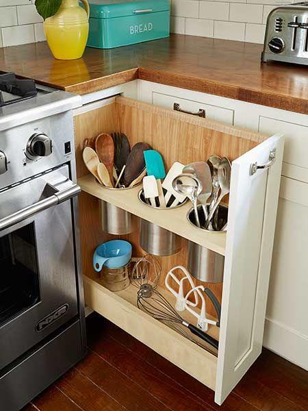 Úložný priestor v kuchyni - skrinka