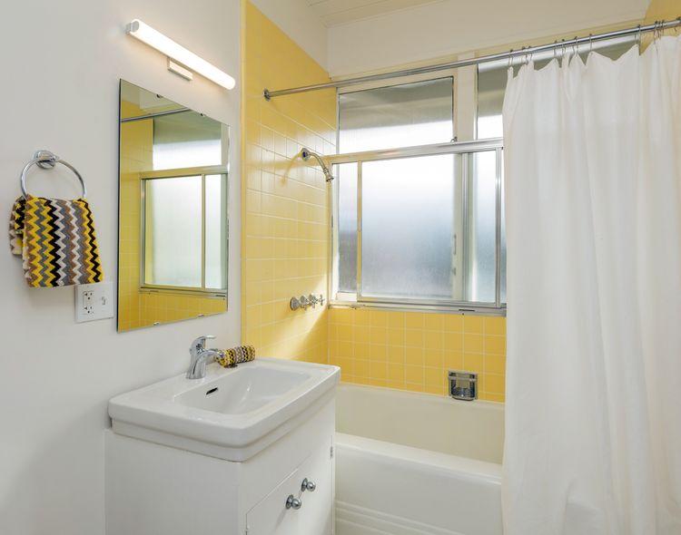 Žltá sprcha