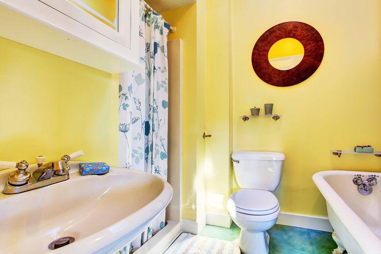 Kúpeľňa v žltej