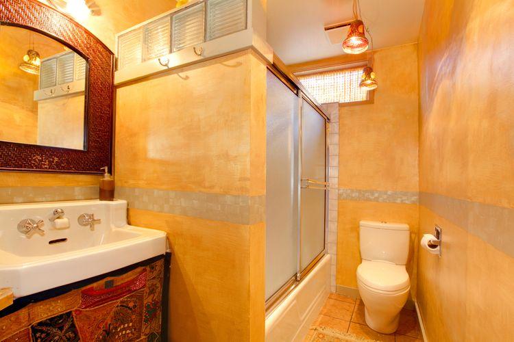 Žltá kúpeľňa