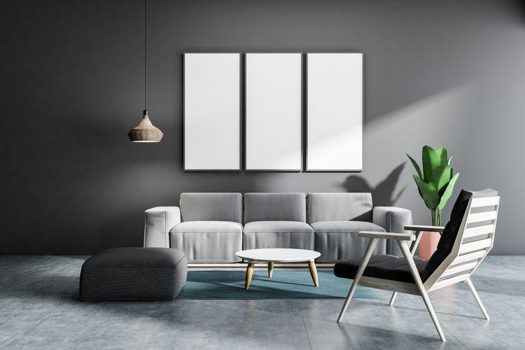 Sivá stena a doplnky