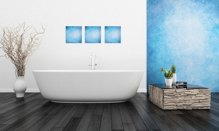 Modrá stena a obrázky