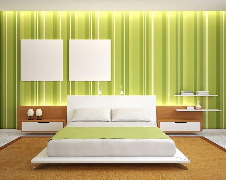 Zelená spálňa
