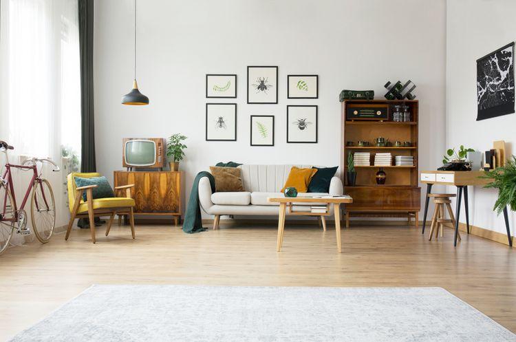 Malá retro obývačka