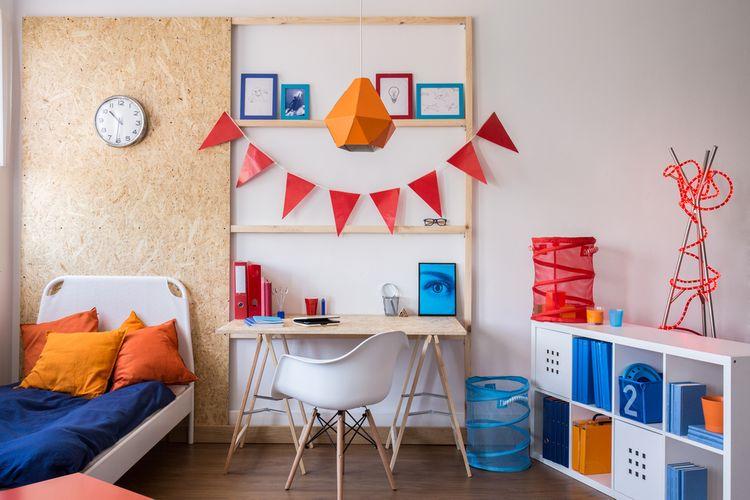 Farebná študentská izba