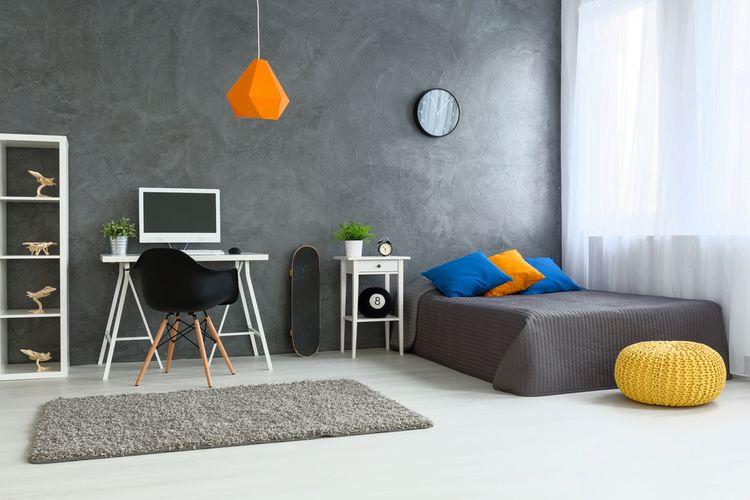 Sivá študentská izba