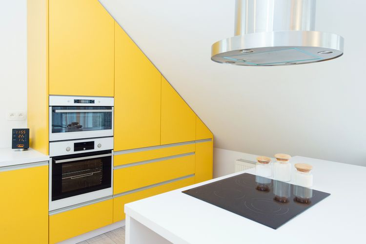 Žltá v kuchyni