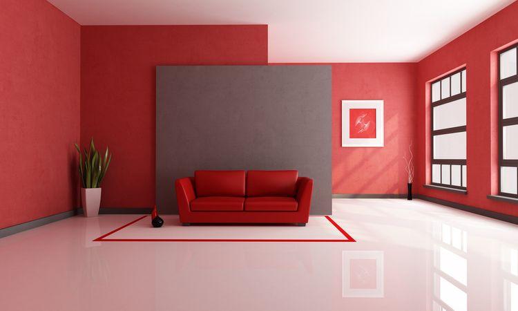 Červená obývačka