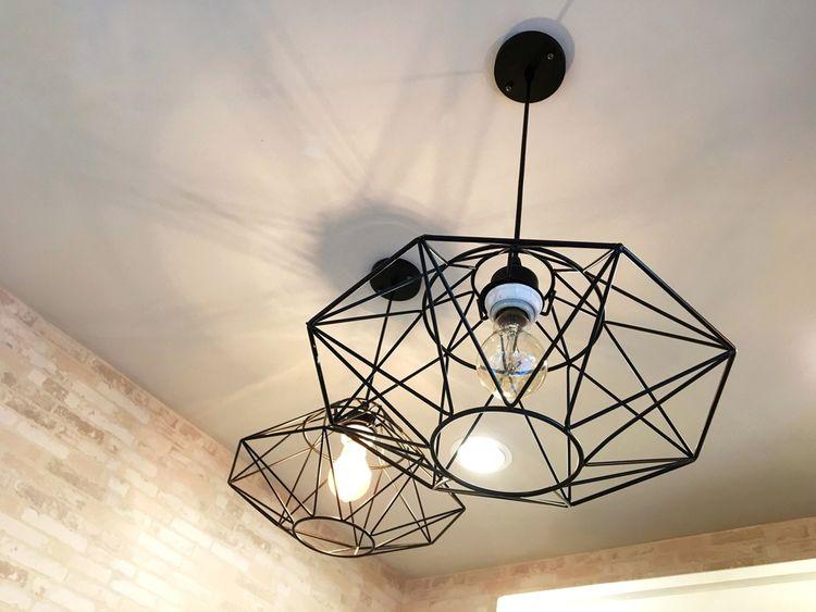 Zaujímavé wire lampy