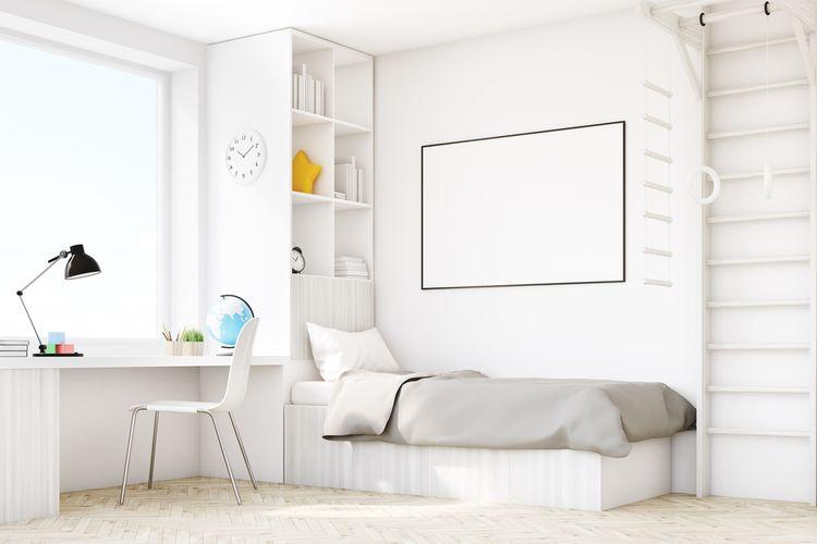 Biela izba pre chlapca