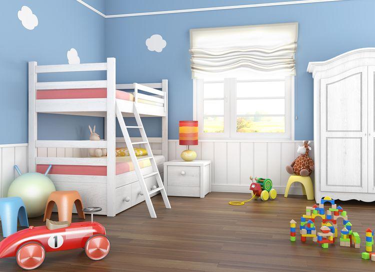 Detská izba s poschodovou posteľou