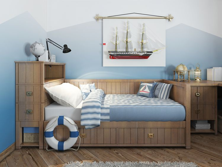 Námornícka detská izba