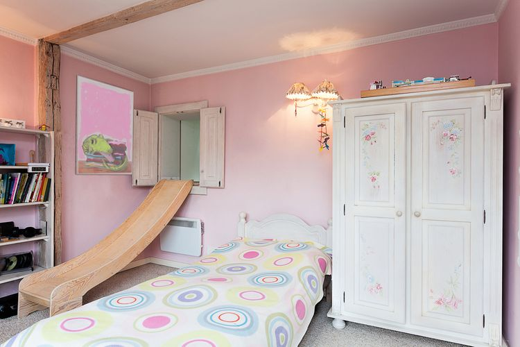 Detská izba so šmykľavkou