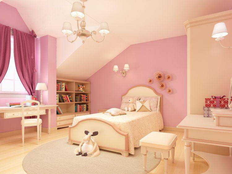 Dievčenská izba v klasickom štýle