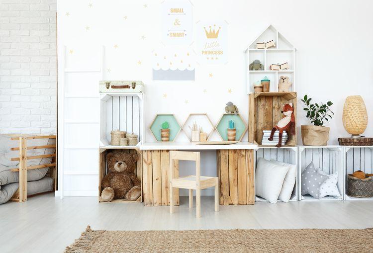 Jednoduchá detská izba pre dievča