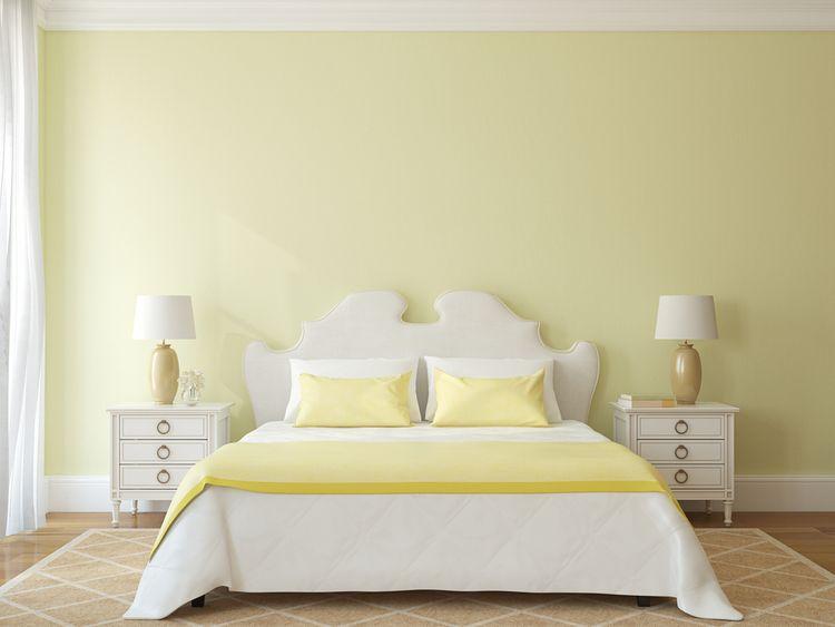 Jemen žltá spálňa