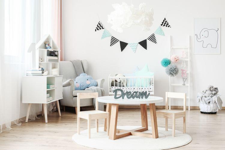 Stôl v detskej izbe