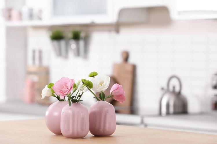 Ružové vázy