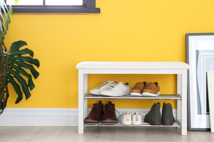 Biely topánkovník