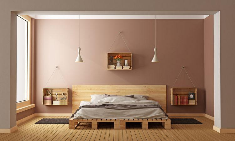 Hnedá spálňa