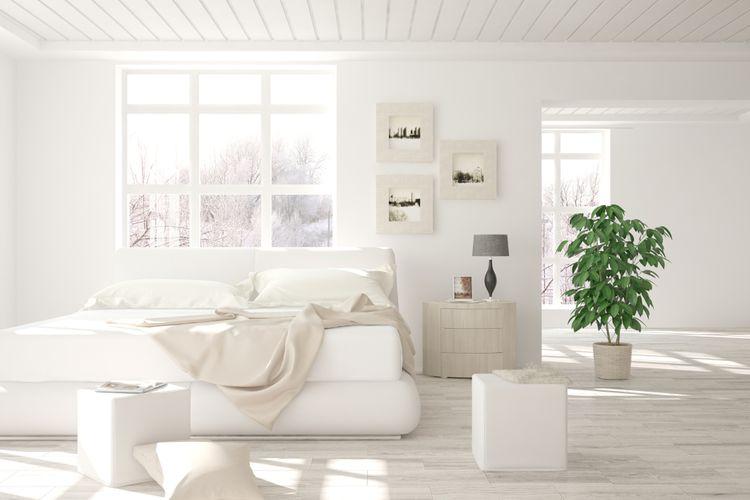 Škandinávsky dizajn spálne