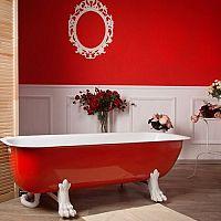 Červená kúpeľna – nielen pre ľudí, ktorí sa neboja riskovať