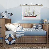 Detská izba pre chlapca – modrá hrá prím