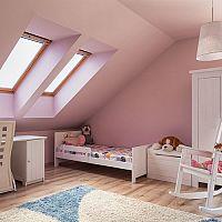 Detská izba v podkroví – vytvorte dieťaťu vhodný priestor na všetky aktivity