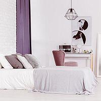 Fialová farba do spálne? My hovoríme áno!