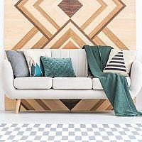 Geometrické vzory v obývačke – ozvláštnia každý priestor