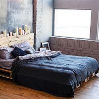 Modrá spálňa – farba oblohy pôsobí blahodárne na spánok