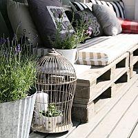 Paletové sedenie - hodí sa na záhradu i do domácnosti