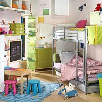 Poschodová posteľ – šetrí miesto a deti ju milujú