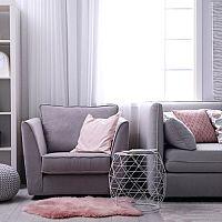 Sivá obývačka – hodí sa do každého bytu