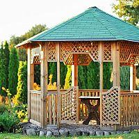 Záhradný altánok – oceníte ho v lete i na jeseň