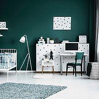Zelená detská izba – hodí sa pre chlapcov i dievčatá