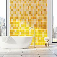 Žltá kúpeľňa – aj doplnky rozhodujú