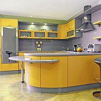 Žlté kuchyne – potešia oko i ducha