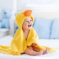 Detské osušky s kapucňou pre bábätko sú hit! Kupujete bambusové či froté?