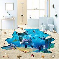 3D podlahy do kúpelne aj obývačky. Ako sa robia?
