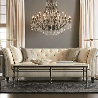 Luxusné krištáľové lustre do obývačky, spálne aj modernej kuchyne