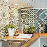 Obklady za kuchynskú linku a kuchynské zásteny